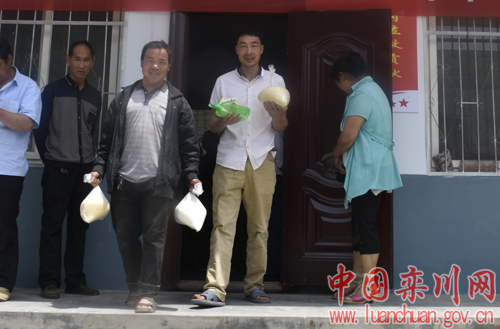 栾川县委宣传部创新帮扶方式助力群众脱贫