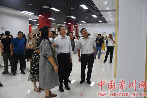 栾川县艺术展览馆正式启用 并迎来首场画展